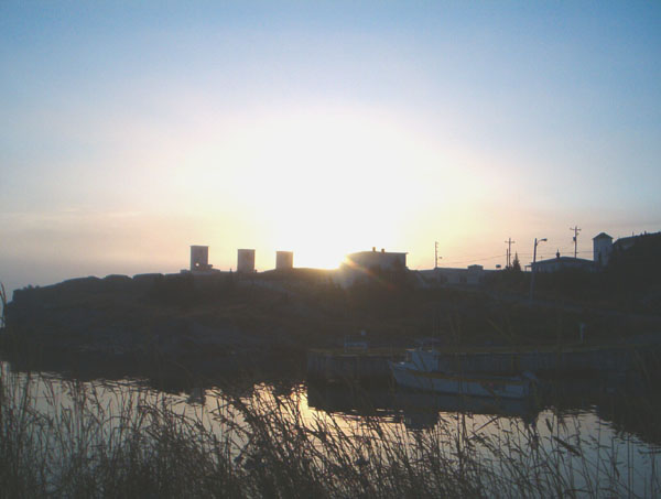 Sunrise over Historic Port Union